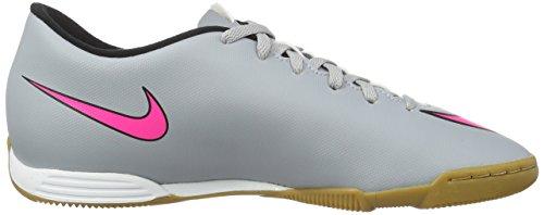 Nike Mercurial Vortex II Ic, Scarpe sportive, Uomo Multicolore (Gris / Rosa / Negro (Wolf Grey / Hyper Pink-Black-Blk))