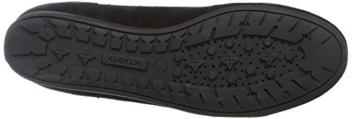 Geox New Moena D, Scarpe da Ginnastica Basse Donna Nero (Black)