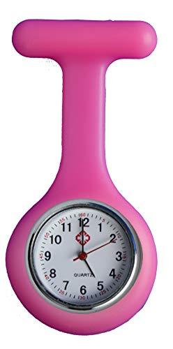 All u need Krankenschwester Schwesternuhr Pink Taschenuhr Kitteluhr Pulsuhr Pflege Nurse Watch