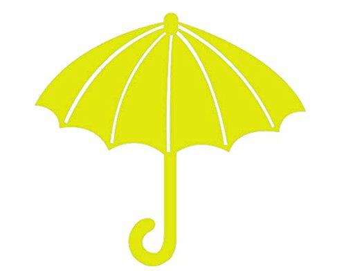Apalis Wandtattoo Haken No.SH8 Regenschirm Regen Wetter Schutz Kleidung Accessoires, Farbe:Braun;Größe:91cm x 100cm