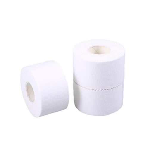 SUPVOX 3pcs Sport Athletic Tape Medizinische Bandage Vliesband Conforming Verband Erste Hilfe Wundversorgung Verband age 3,8 cm x 10 m) -