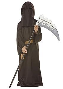 César - Disfraz de la muerte para niño, talla 14 años (A037-004)