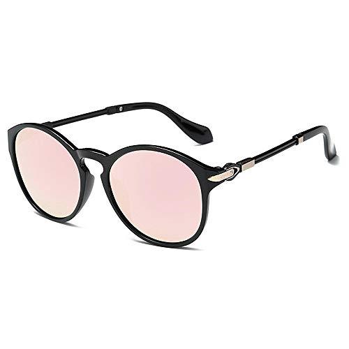 XHCP Frauen polarisierte Klassische Flieger-Sonnenbrille, Blumen-Rahmen Charmful Dame 's polarisierte Sonnenbrille-Bunte Linsen-Sonnenbrille für Frauen-UVschutz umrandete Klassische Sonnenbrille
