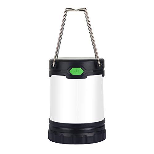 Camping Lanterna USB ricaricabile solare di campeggio della lanterna della batteria luci della tenda Powered portatile impermeabile Emergenza Lanterna Interruzione della lampada LED uragano lant