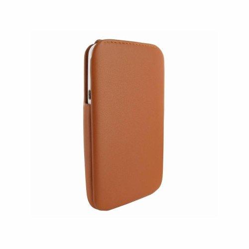 Piel Frama iMagnum Ledertasche für HTC One X braun