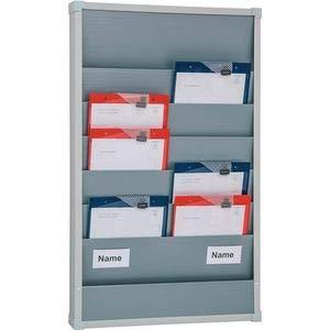 EICHNER Planungstafel Werkstattplaner 55,4 x 7,8 x 90,0 cm (BxTxH) für DIN A4 grau