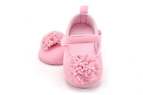 FemmeStopper BABY GIRL Flower 15-21 Months(14cm) Born Infant Baby Girls Shoes First Walker Shoes