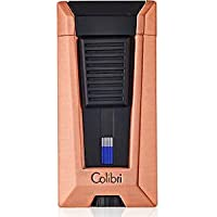 Colibri Stealth III Triple Flame Lighter–oro rosa & nero opaco