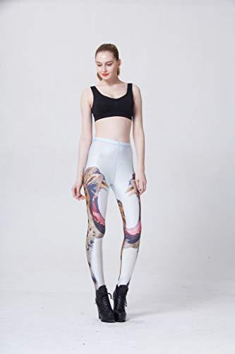 Ayujia Yoga Hosen Leggings Sterne Digitaldruck Cheetah Bleistift Füße Hosen (Für Leggings Cheetah Frauen)