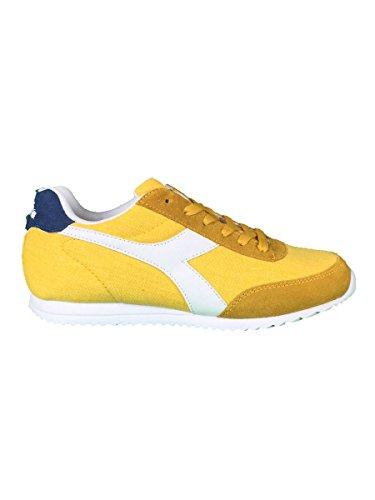 Diadora Jog Light C, Sneaker a Collo Basso Unisex – Adulto Giallo