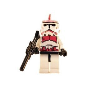 Clone Trooper (Red) - LEGO Star Wars Figure by LEGO