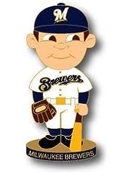 Milwaukee Brewers Pin Bobble Head