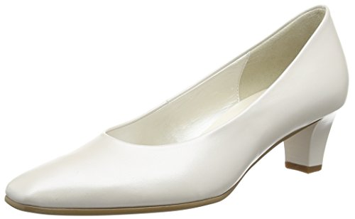 Gabor Shoes Fashion 05.180 Damen Pumps, Blanc Cassé (Off White Pearlised Leather), 35 1/2 EU (3 UK) -