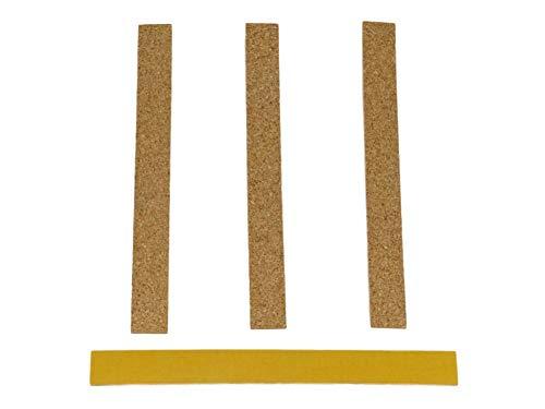 selbstklebende Korkstreifen zur Passoptimierung 4 Stück Hut Hutband Korkeinlage (Hutband)
