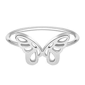 Chandler Beautiful Butterfly Ring Female Engagement Rings for Women Minimalist Jewelry