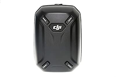 DJI Hardshell Carry Case Backpack with Drone Moulds Compatible with DJI Phantom 3 Advanced and Professional Aerial UAV Quadcopter Drone and Accessories - Black by DJI