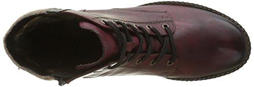 Remonte D4390, Combat Boots Femme Rouge (Vino/Antik/Wine/Wood / 35)