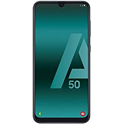 "Samsung Galaxy A50 - Smartphone de 6.4"" FHD sAmoled Infinity U Display (4GB RAM, 128GB ROM, 25MP, Exynos 9610, Carga rápida), Negro [versión española]"