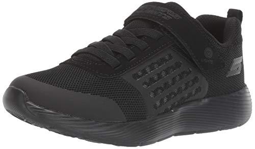 Skechers Boys' Dyna-lights Sneakers, Black Black Mesh/Black Trim Bbk, 2 UK 35 EU