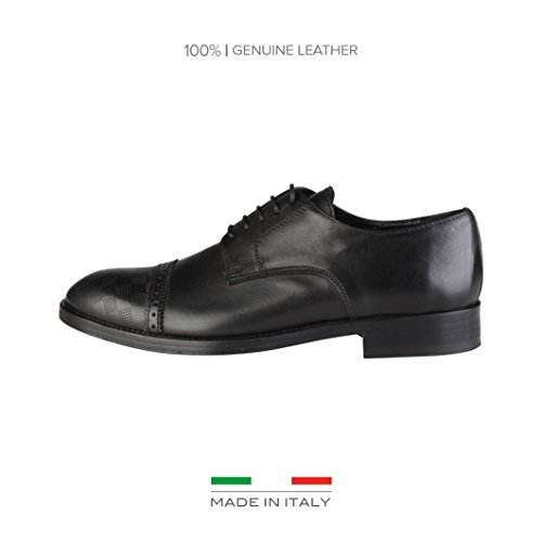 Made in Italia Shoes, Derbys Homme, Noir