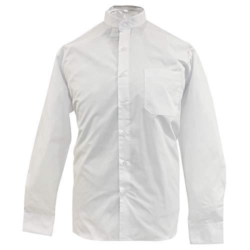 MISEMIYA - Camisa Uniforme Camarero Caballero Cuello