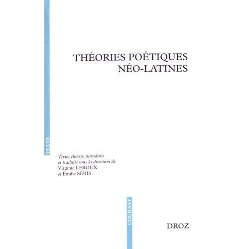 Théories poétiques néo-latines