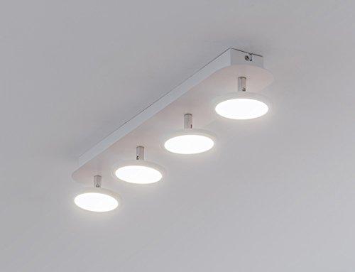 Plafoniere A Led Per Pareti : Bent s4 plafoniera a led da soffitto o parete con 4 faretti 6 w