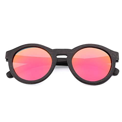TIANZly Klassische Bambus Sonnenbrillen Herren und Damen Retro Mode Multicolor Sonnenbrillen Herren und Damen Modelle Brillen UV400 fahren