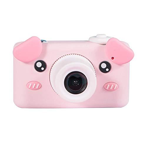 Jacobden Videocámara portátil Con cámara de Video digital HD para niños de 8.0MP Con pantalla LCD 2.0 Con pegatinas de dibujos animados Regalos para niños -