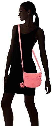 Kipling Damen Arto S Umhängetasche, 25x21x3 cm Pink (City Pink)