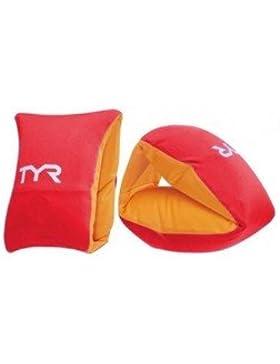 TYR Soft Flotador de Brazo, Unisex Niños, Rojo/Dorado, Talla Única
