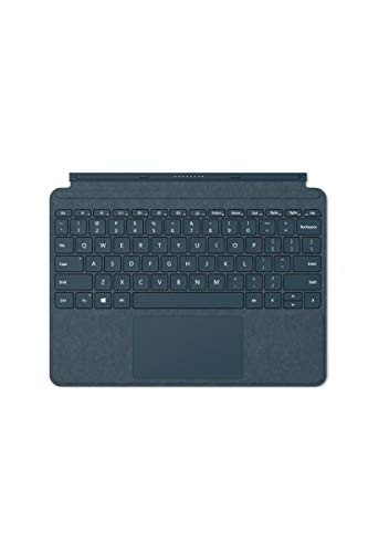 Microsoft Type Cover Signature Surface Go Bleu Cobalt (Alcantara) AZERTY
