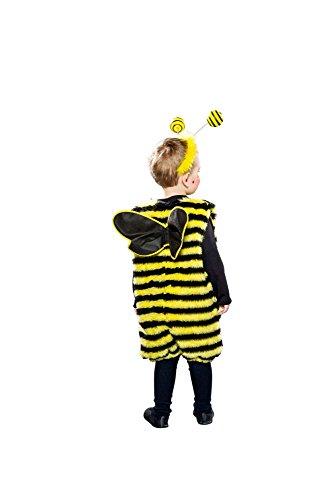 (Festartikel Müller Kinder Kostüm Biene Overall mit Flügeln Karneval Fasching Gr.98/104)