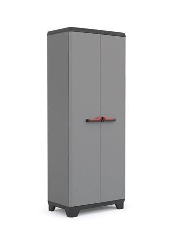 Kis stilo armadio in resina basic per esterno portascope 68x39x173h