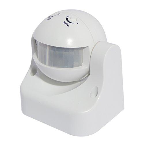 Chacon 34302 Détecteur de mouvement PIR 180° Blanc