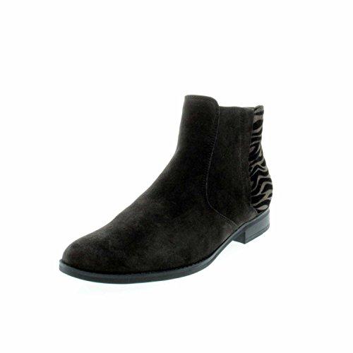 Gabor 31660-79, Stivali donna scuro-grigio