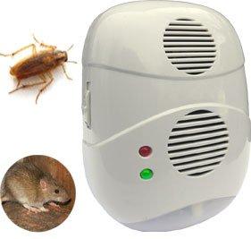 Good Ideas Répulsif ultrasonique Par ioniseur prise LED (866) votre maison les insectes nuisibles et sans nickel. anti-fourmis, araignées, les insectes, les Rats et les souris.
