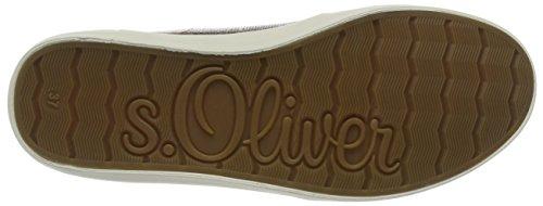 s.Oliver 23606, Scarpe da Ginnastica Basse Donna Rosa (ROSE/GOLD 593)