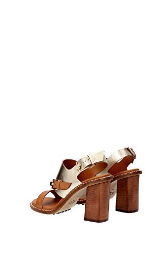 XXW0YE0O920DJV0B0A Tod's Sandale Femme Cuir Marron clair Marron Clair