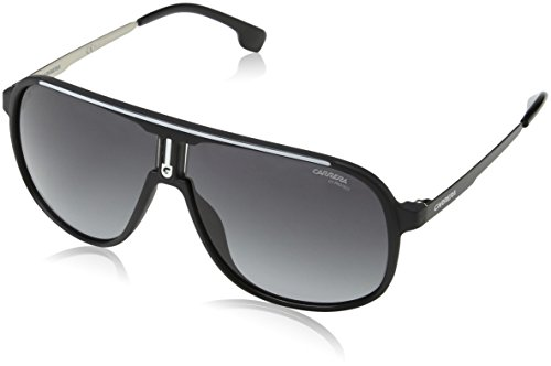 Carrera Herren 1007/S 9O 003 Sonnenbrille, Schwarz (MATT BLACK/DARK GREY SF), 62