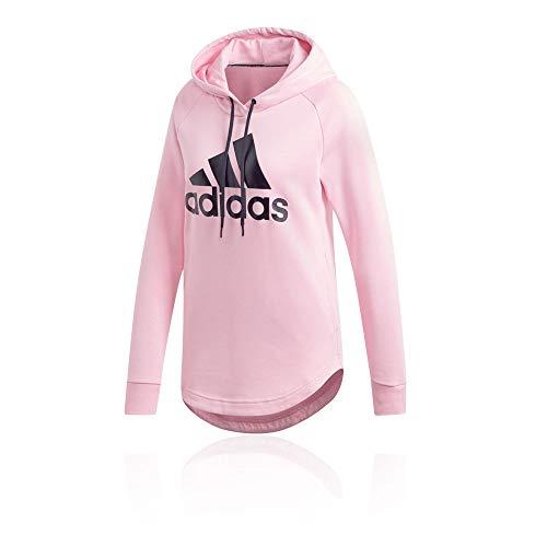 adidas Performance Must Have Badge of Sport Trainingskapuzenpullover Damen pink, S