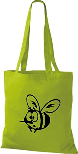 Tote Bag Animali Shirtstown Ape Lime