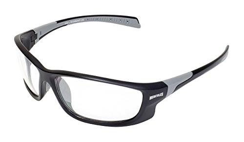 Global Vision Eyewear Hercules 5Sicherheit mit matt schwarzen Rahmen und klaren Gläsern