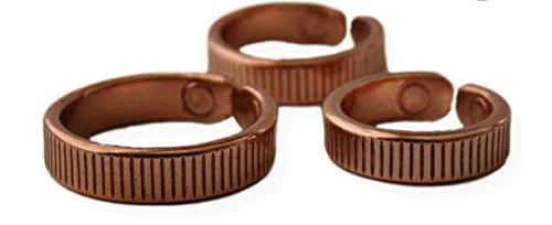 Preisvergleich Produktbild Solide Ring Kupfer magnetisch Quantum großen Größe 12