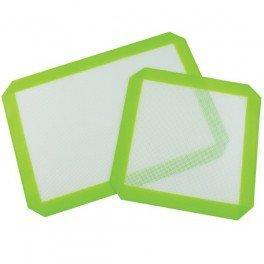 Plaque en silicone 21x30cm - Vert et Blanc