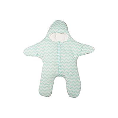 SMARTLADY Invierno Sacos de Dormir para Bebé Niños Niñas, Forma de Estrella Algodón Grueso Caliente Paseante Bolsa de Dormir