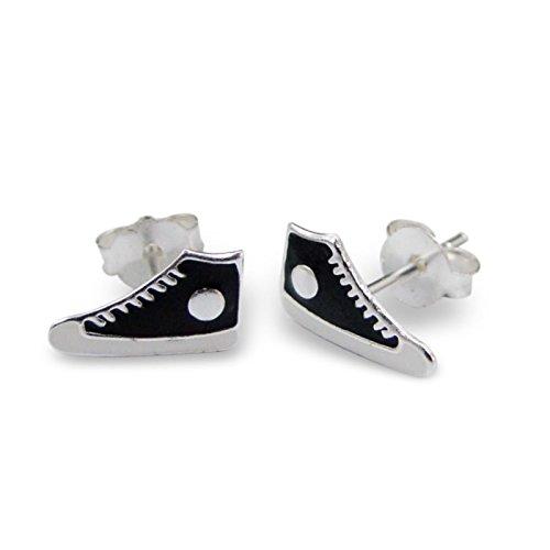 Stiefel Schuhe Verkauf - Silvadore - 925 Sterling Silber Ohrstecker