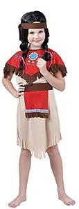 Reír Y Confeti - Fiacow011 - Disfraces para Niños - Indian Girl