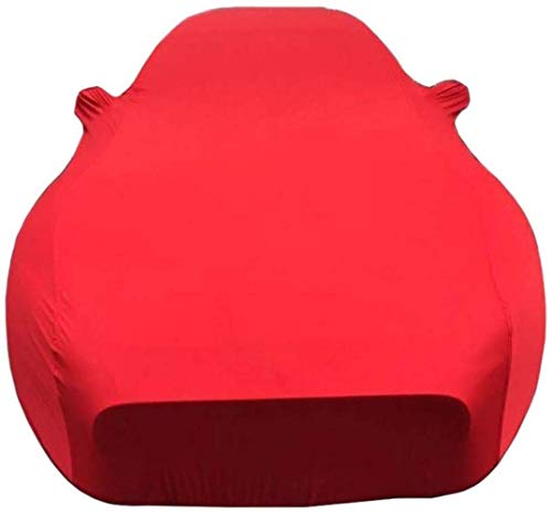 WJQSD Autoschutzhülle Car-Cover Anwendbar Auf Rolls-Royce Phantom Car Cover Indoor-Ausstellungshalle Keller Sonnenschutz Stretch Tuch Scratch Proof Atmungsaktiv (Color : Red-Rolls-Royce Phantom)