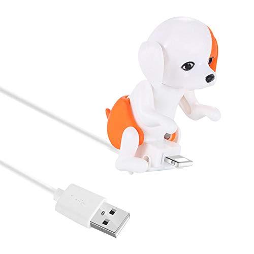 Forestwood USB Kabel 1.M 2A Für iPhone Teddy Dog Spielzeug Datenkabel Bold aus sicherem verkupfertem Kernmaterial USB Data Charger Kabel, Schnelle und Stabile Ladeleitung